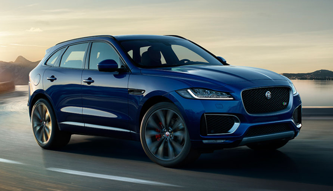 F-PACE Exterior Front
